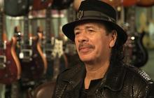 """Carlos Santana: Being a guitarist is """"what I was born to do and be"""""""