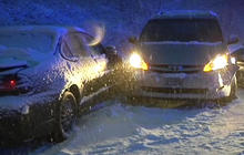 Storm blasts northern U.S. with snow and cold
