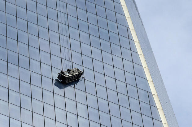 High-altitude rescue at WTC