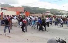 Violence escalates in Mexico  Protests