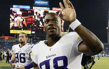 NFL star Adrian Peterson suspended for season