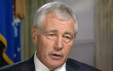 Defense Secretary Hagel on how Assad may benefit from U.S. attacks against ISIS