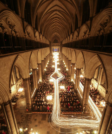 Advent service at Salisbury Cathedral