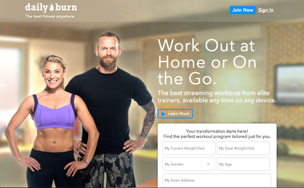 daily burn - the best online fitness classes for slim budgets