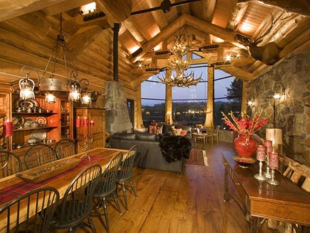 10 Luxurious Log Cabins On The Market Cbs News