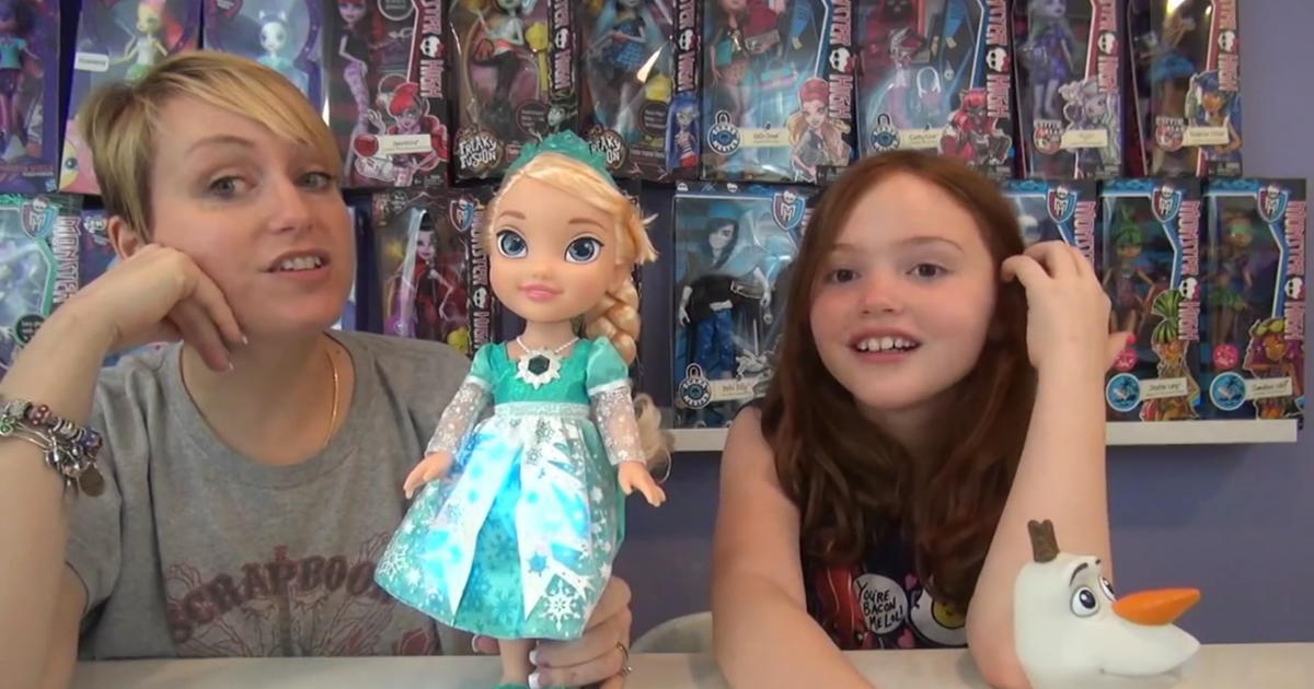 Mom And Daughter Host Viral Toy Review Series On Youtube Cbs News