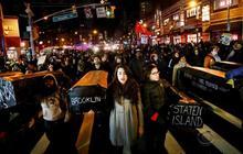 Unlike Ferguson, more public support for Eric Garner