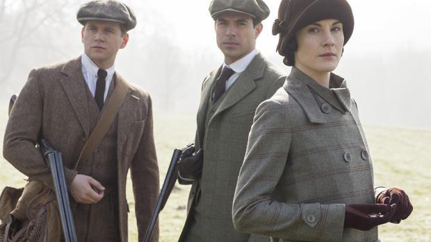 """Duchess Kate visits """"Downton Abbey"""""""