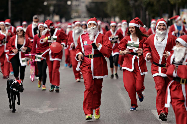 Santa on the run