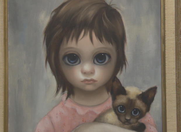 here s looking at you kids the big eyes paintings of margaret