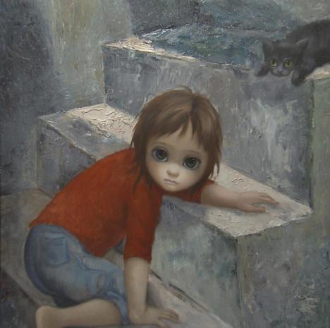 """""""Big Eyes"""" The """"Big Eyes"""" paintings of Margaret Keane"""