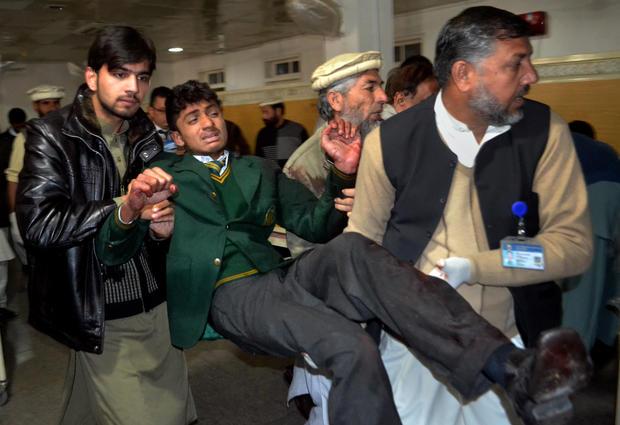 Taliban storms Pakistan school