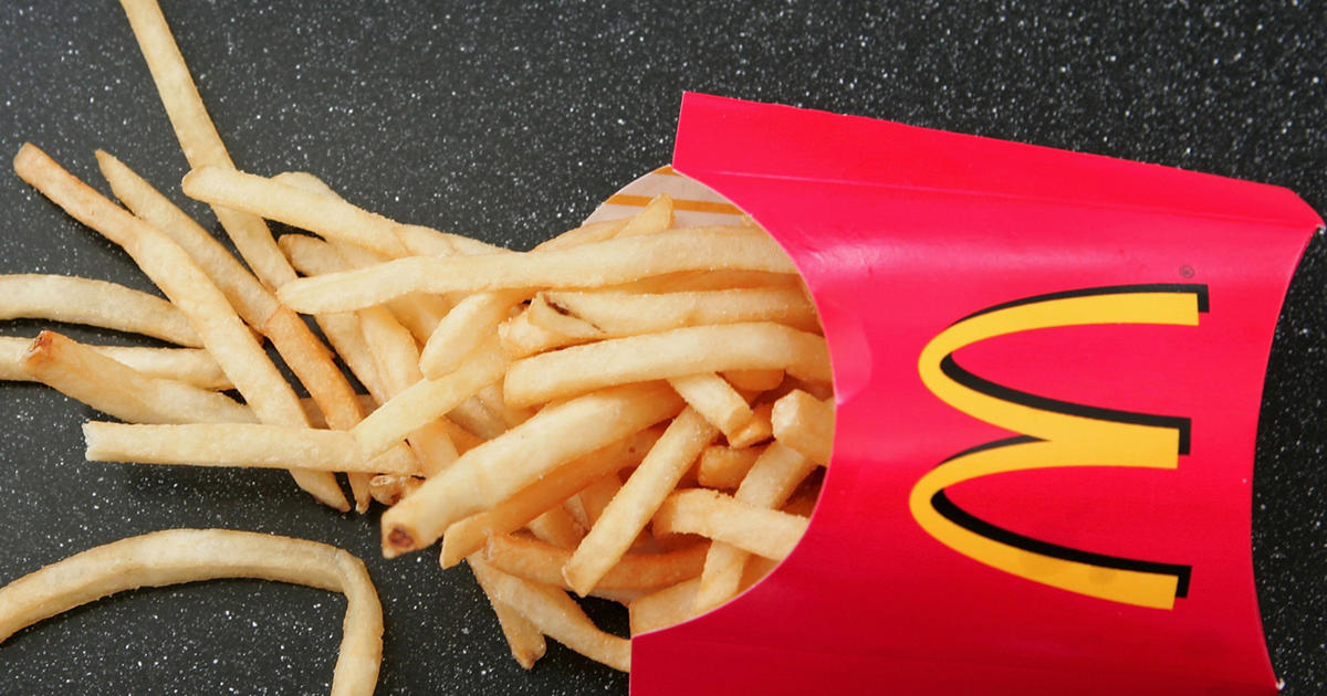 Chemical in McDonald's fries may promote hair growth