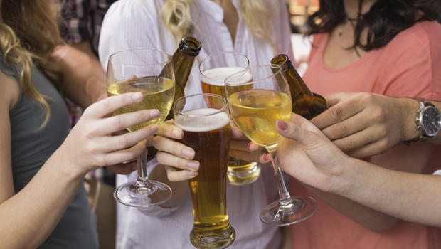 Image result for Heavy drinking may harm men more than women