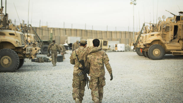 U.S. troops leaving Afghanistan
