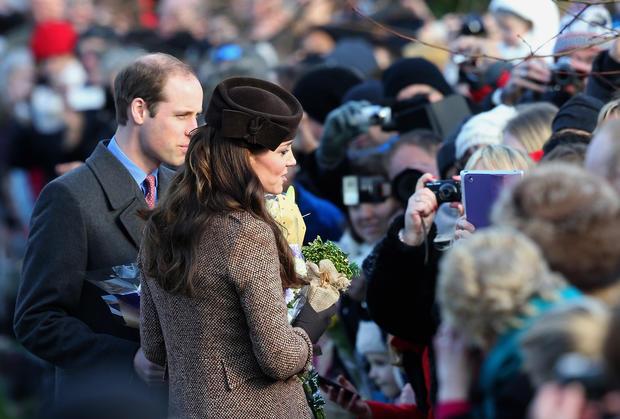 British royals celebrate Christmas