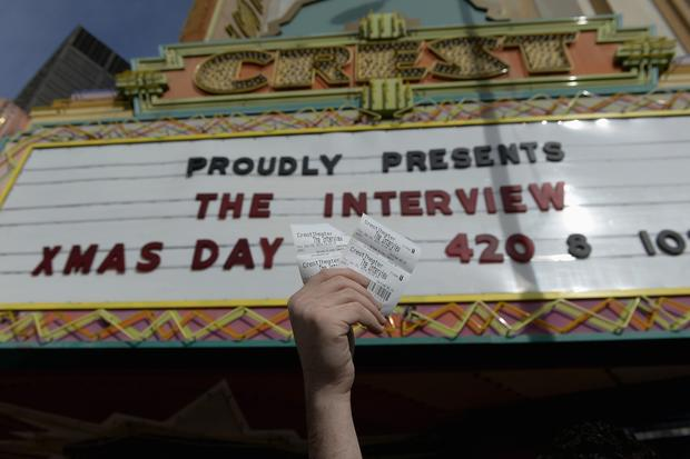 """The Interview"" opens in theaters"