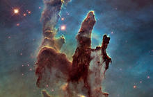 "Hubble telescope reveals HD images of ""Pillars of Creation"""