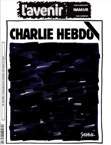 Front pages react to Charlie Hebdo attack