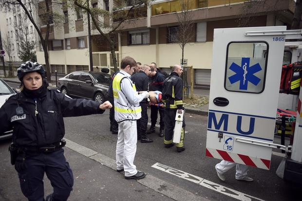 Paris newspaper attacked