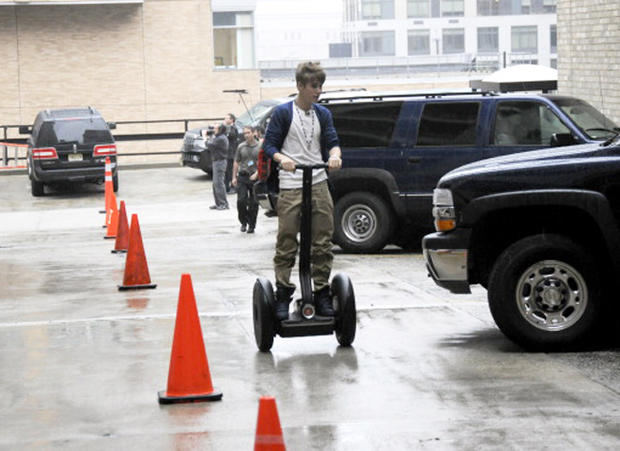 Famous people riding Segways