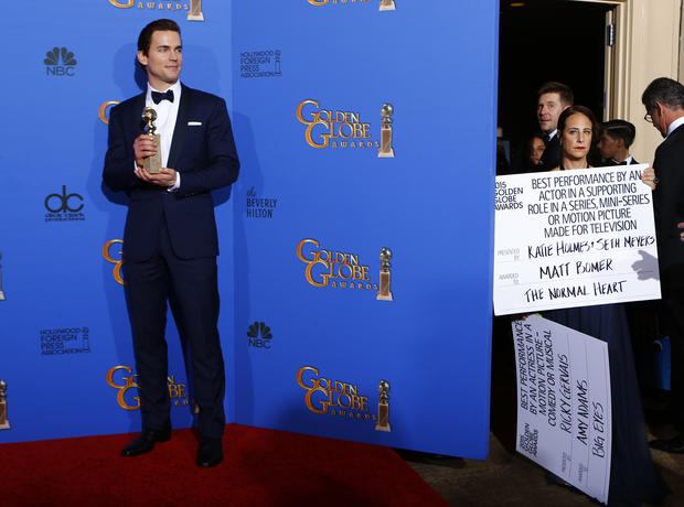 Golden Globe Awards 2015 backstage