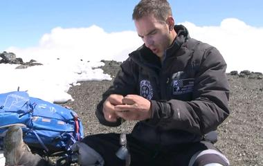 Mark Zambon summits Mt. Kilimanjaro in Tanzania