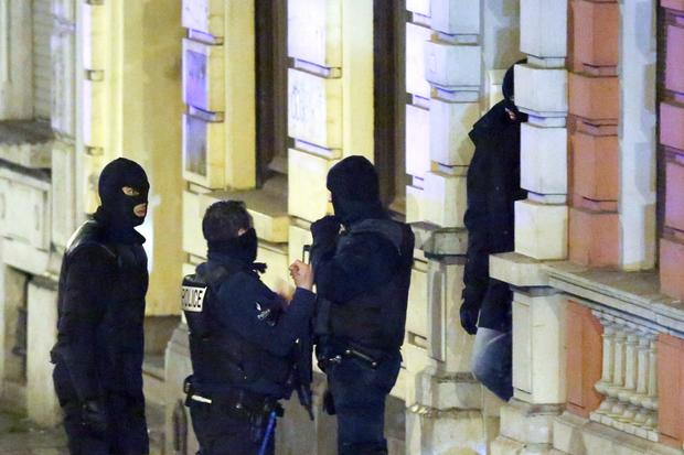 Anti-terror raids in Europe