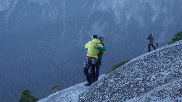 "Climbing the ""world's hardest rock climb"""
