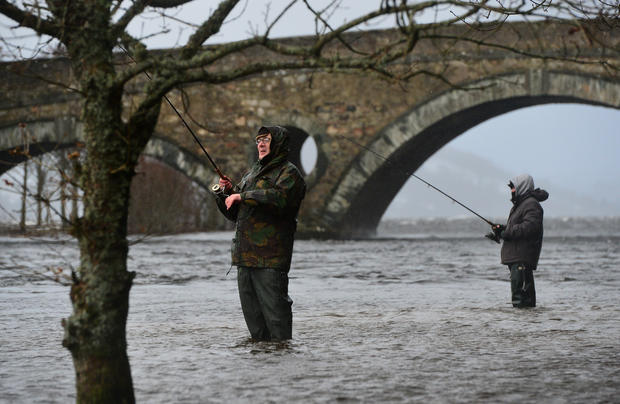 Fishing season opens on the river Tay