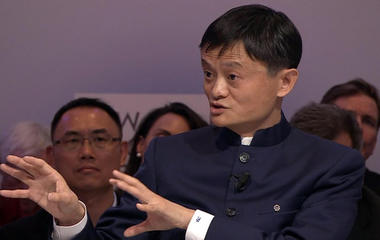 China's richest man Jack Ma isn't scared of his country's slowing economy