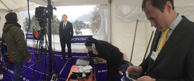 Covering Davos 2015