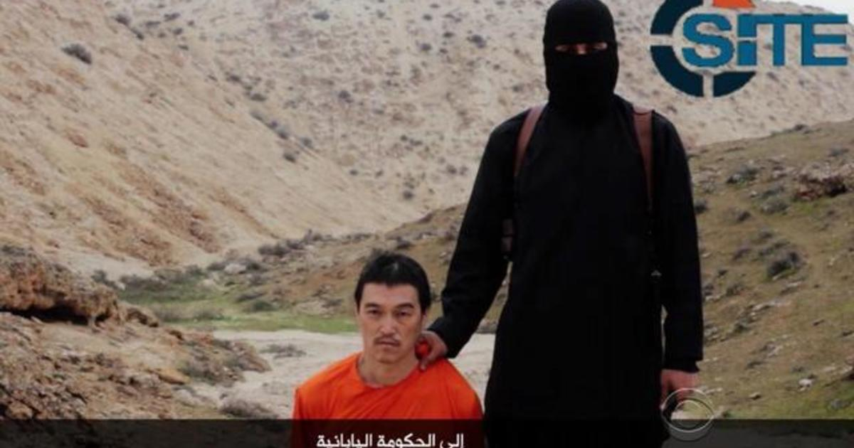 ISIS video purportedly shows execution of Japanese hostage - CBS News