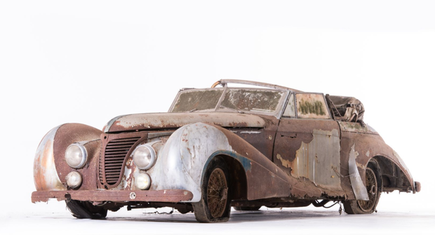Extremely rare cars up for auction