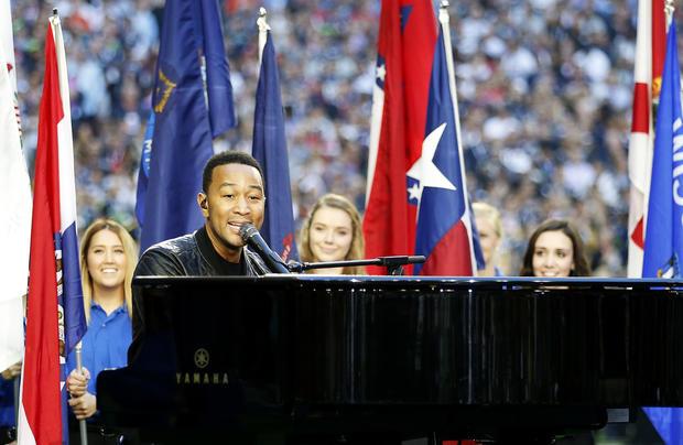 Stars at Super Bowl 2015