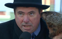 Groundhog takes a nibble of Wisconsin mayor