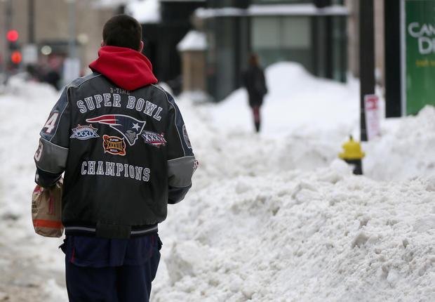 Boston celebrates Patriots' Superbowl victory