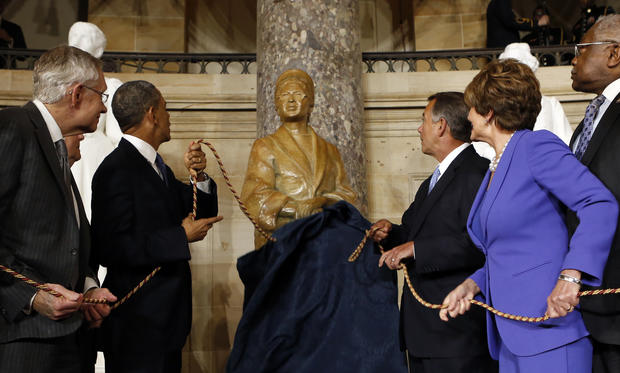 Rosa Parks collection opens
