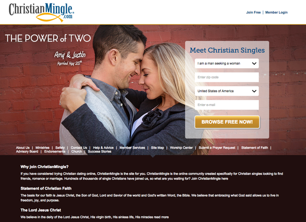 Christian mingle com member login