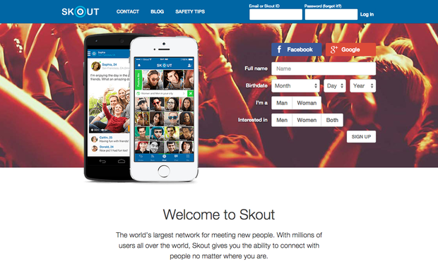 Skout online dating sign up