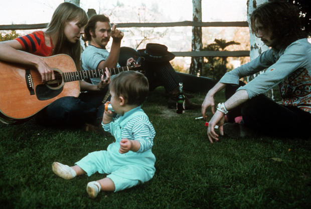 Iconic rock star photos by Henry Diltz