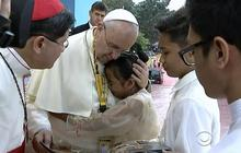 Pope Francis stance on spanking challenged
