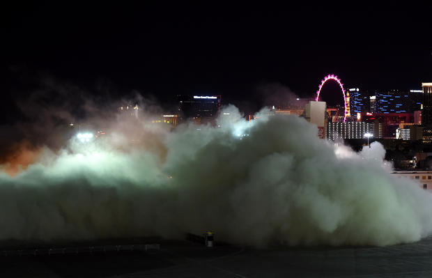 Las Vegas casino imploded