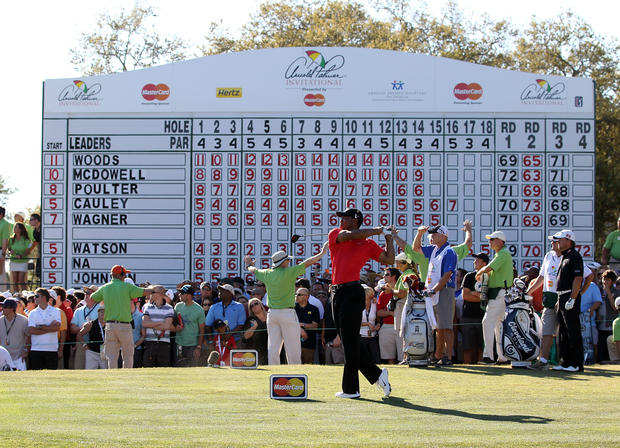 2012 Arnold Palmer Invitational - The 19 biggest ups and downs of Tiger Woods' career - Pictures - CBS News