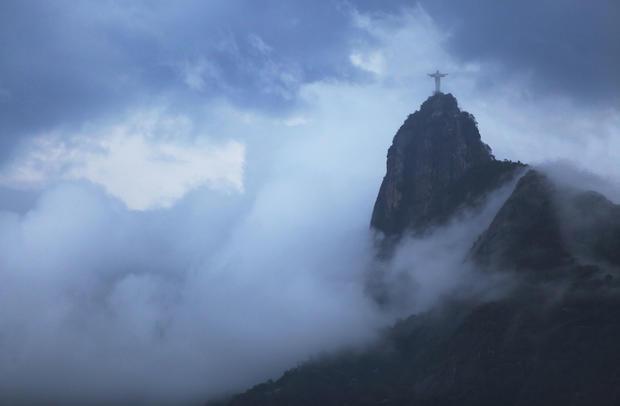 The Christ the Redeemer statue is seen on Corcovado mountain in Rio de Janeiro, Brazil, Feb. 6, 2015.