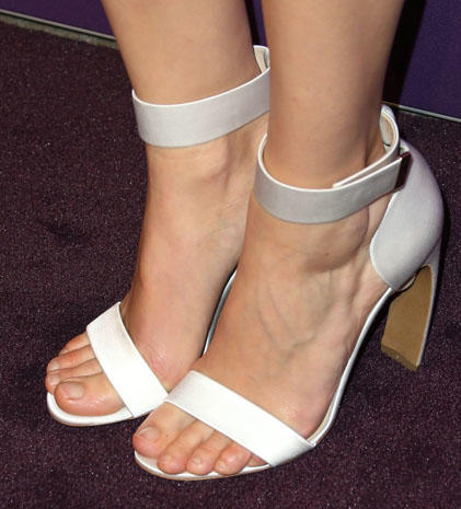 January Jones Famous Feet High Heels On The Red Carpet Pictures