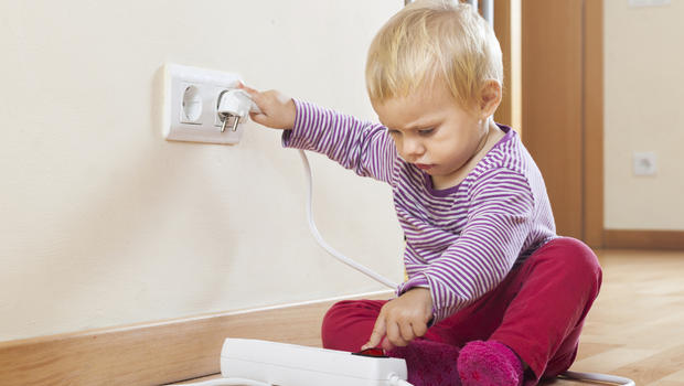 For kids danger lurks in every room at home cbs news - Detector co2 domestico ...