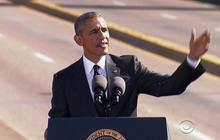 """Obama remembers """"Bloody Sunday"""" in Selma"""