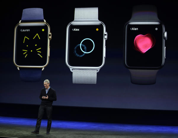 Apple Watch debut