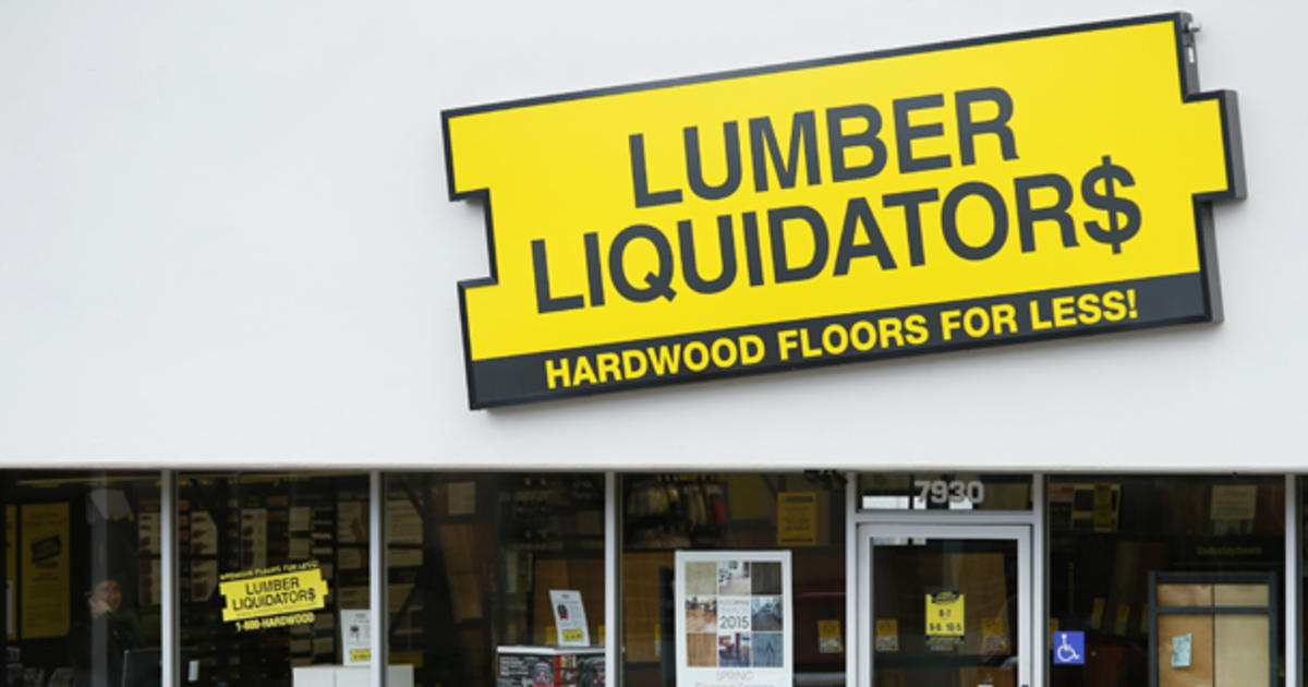 "Lumber Liquidators agrees to ""recall to test"" possibly contaminated floors - CBS News"